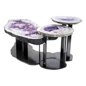 Tavolo De Caffe Ametista Amethyst Table - Brenda-Houston - Treniq