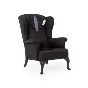 Suited & Booted Armchair - Rhubarb London - Treniq