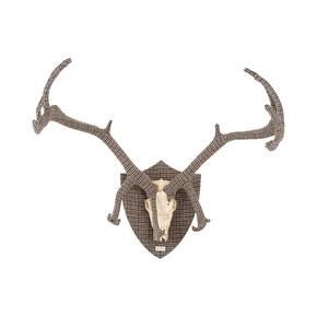 Tweed Deer Antlers - Rhubarb London - Treniq