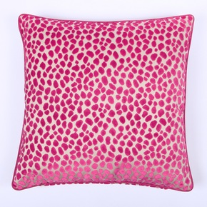 Raspberry Spotty Scatter Cushion