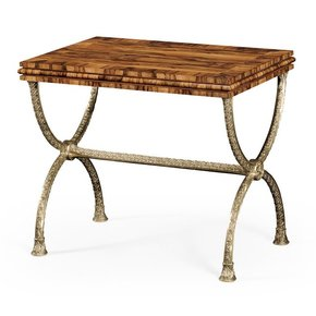 Regency Style Curule Side Table