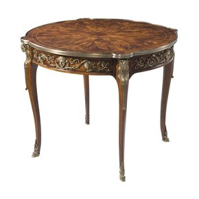 Louis XV Mahogany Center Table