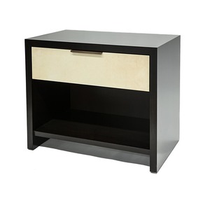 Parchment Bedside Table - Aguirre Design - Treniq