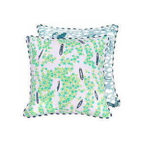 Irds Eye View Cushion - The Elephant Stamp - Treniq