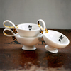 Heritage tea cup gold plated emma alington treniq 1