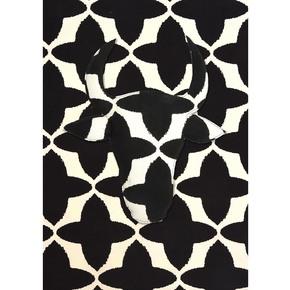 Black Buta Canvas Fabric - No Mad - Treniq