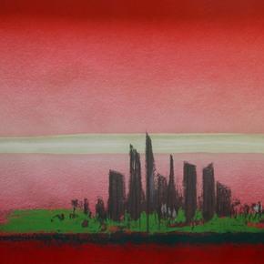 Horizon The Energy of Singapore by Srihadi Soedarsono - Addicted Art Gallery - Treniq