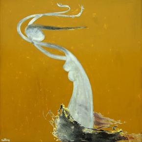 Golden Reverie by Van Dinh Quan - Addicted Art Gallery - Treniq