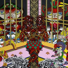 "Lost and Wandering Bridge Series No. 12"" by Keiichi Tanaami - Addicted Art Gallery - Treniq"