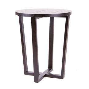 Solid side table