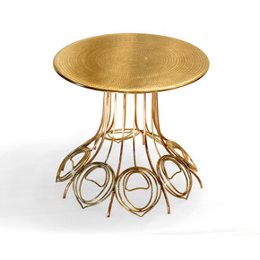Peacock Side Table - Sahil and Sarthak - Treniq