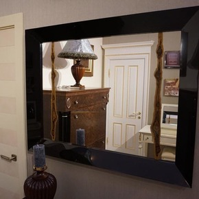 Mirror with Macassar Fragment - Wood Interior Solutions LTD - Treniq