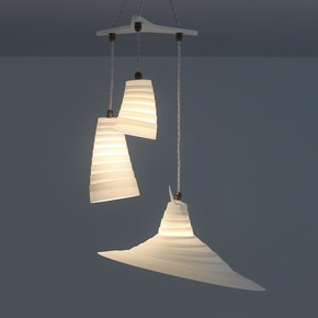 Whip 3 Drop Variety Suspension Lamp - One Foot Taller - Treniq