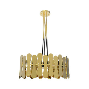 Champagne Suspension Lamp - Duquesa & Malvada - Treniq