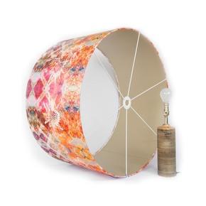 Pink Thistle Lampshade Large - Mairi Helena - Treniq