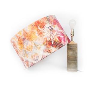 Pink Thistle Lampshade Medium - Mairi Helena - Treniq
