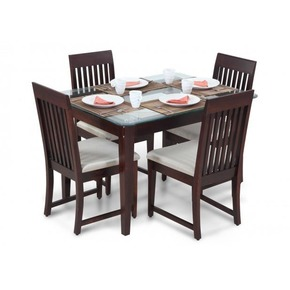 Stylish Four Seater Dining Table Set