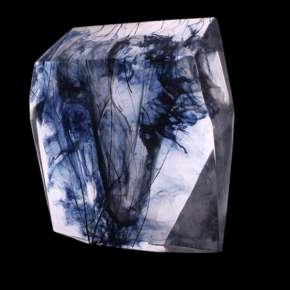 Crystal Torso Block Sculpture
