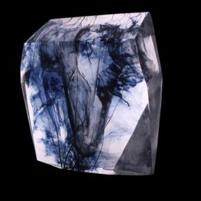 Crystal Torso Block Sculpture