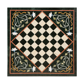 Chess Board Inlay Tabletop I - Carved Additions - Treniq