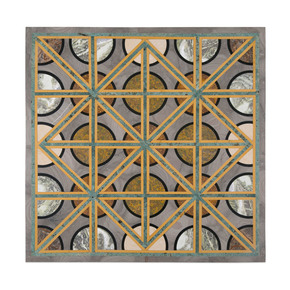 Geometric Tabletop - Carved Additions - Treniq