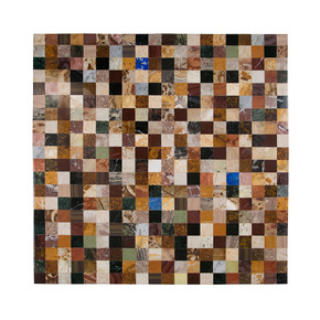Th Assorted Mosaic Marble Wall Hanging-Carved Additions-Treniq