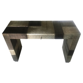 Moroccan Combo Console table Silver