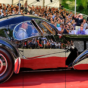 Bugatti Type 57SC Atlantic at Villa d'Este