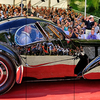 Bugatti type 57sc atlantic at villa deste cm 84 x 200