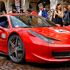 Ferrari 458 Italia Berlinetta at Mille Miglia