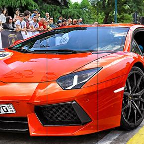 Lamborghini Aventador LP 700-4 at Grande Giro