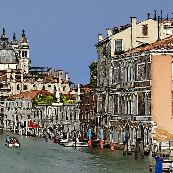 View from accademia bridge  04