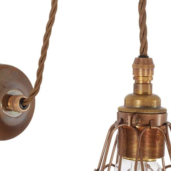 0003617 apoch pulley cage wall light