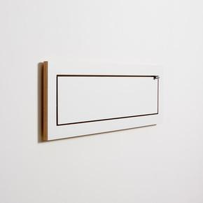 Flaepps Regal/Shelf 80x27-1 weiß/white