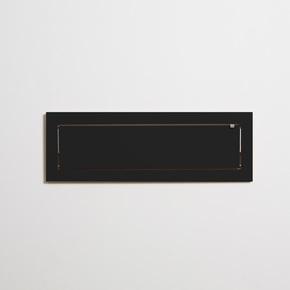 Flaepps Regal/Shelf 80x27-1 schwarz/black