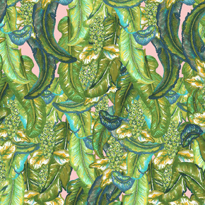 Tropical leafy Fabric
