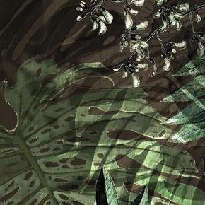 Tropical Translucent Fabric