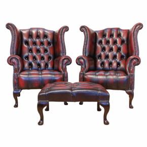 Royal Chesterfield Chair In Leather