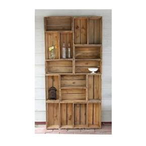 Reclaimed Wood Display Cabinet