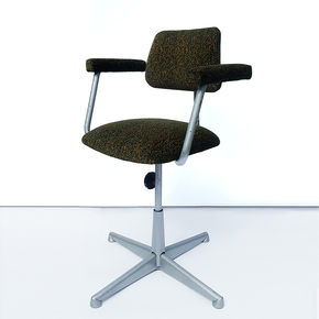 Pixel Camo Desk Chair