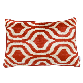 Ikat Cushion Burning Sun