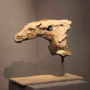 'Tête de Cheval I' Bronze Fine Sculpture by Christophe Charbonnel