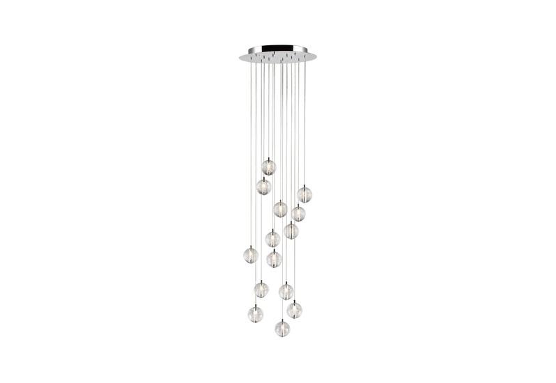 Bubbles set of 14 pendant lamp avivo lighting treniq 1