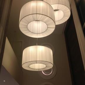 Aliança Alta Pregueada Suspension Lamp