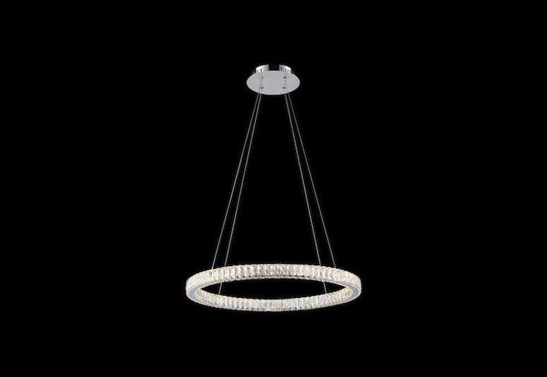 Medium Single Halo Ring Avivo Lighting Treniq 1