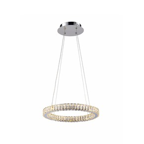 Small Single Halo Ring - Avivo Lighting - Treniq