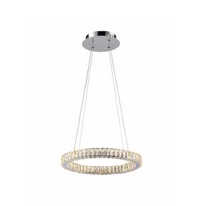 Small Single Halo Ring - Avivo Lighting - Treniq
