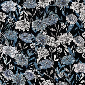 Bright floral fabric II