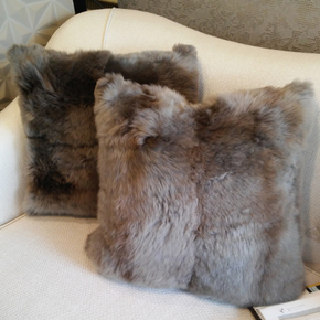 Lambs Wool Cushion