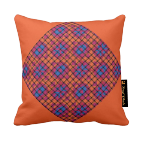 Cushion-Blue-And-Orange-Base-Weave-Print-Design_Beryl-Phala_Treniq_0